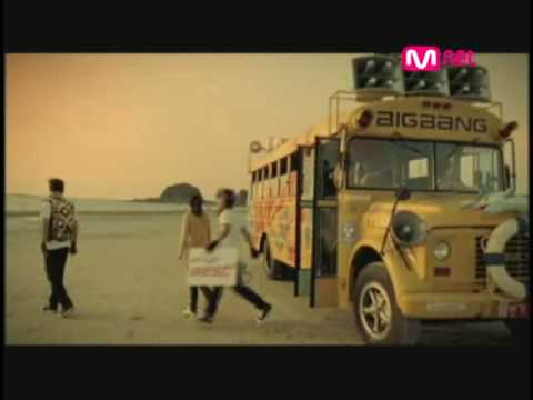 Big Bang -  Sunset Glow  MV Mp3s audio free