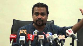 Wimal Weerawansa's Parliametary Complex Media Con. 29.04.2015