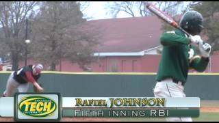 Tech Baseball Highlights - Henderson State