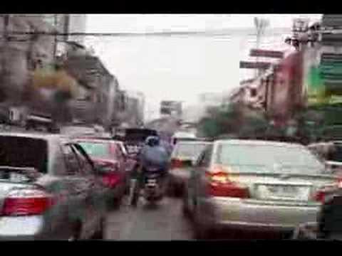 Flight of the Bangkok Motorbike Taxi
