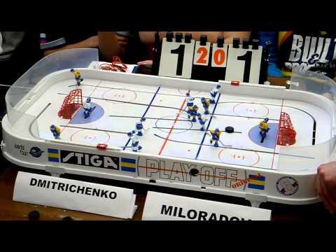 Table Hockey. Moscow Open 2013. Dmitrichenko-Miloradov. Game 3