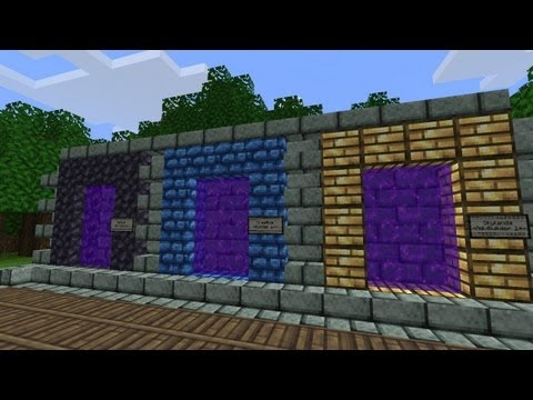 Minecraft Plugin Review: Multiverse Portals