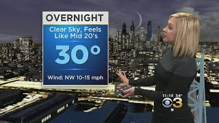 Weather Update: First Sub-Freezing Night
