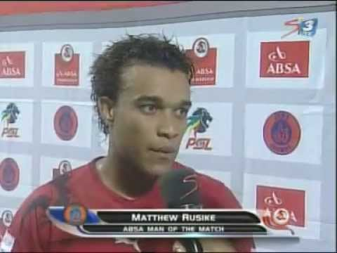 Matt Rusike Man of The Match Interview Cosmos vs Kaiser Chiefs 15 Feb 2012.mpg