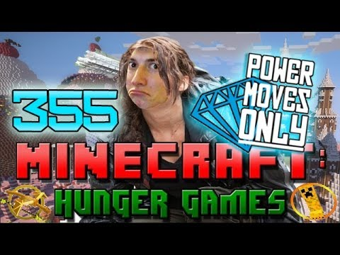 Minecraft: Hunger Games w Mitch Game 355 POWER MOVE SQUAD