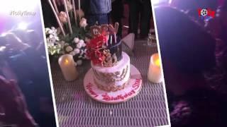 EXCLUSIVE VIDEO   Dev's Birthday Party At Midnight  মধ্যরাত্রে দেবের জন্মদিনের পার্টি