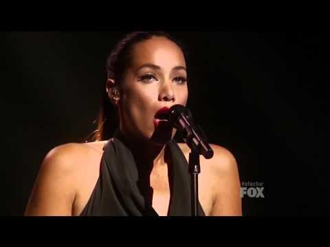 LEONA LEWIS - RUN (Final X Factor USA)