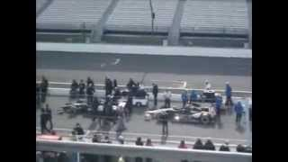 video Here is the action I saw and recorded from the first day of qualifying for the 2014 Indianapolis 500.