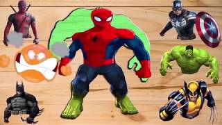 Mask Kid Toys, Learn Colors with Alien Dance PJ Masks Dame Tu Cosita Song for Kids