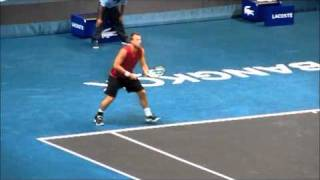how to hit the pro forehand oliver marach