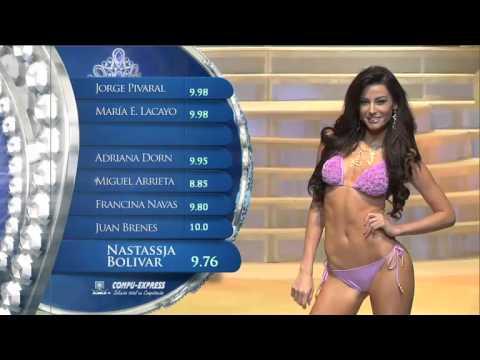 Miss Nicaragua 2013 - Nastassja Bolivar - Swimsuits / Evening Gown - Catwalk
