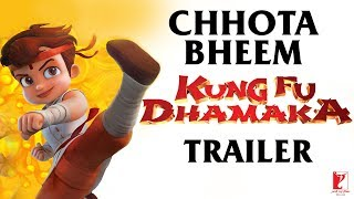 Chhota Bheem - Kung Fu Dhamaka Official Trailer | Releasing on 10 May 2019