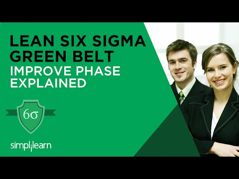 Lean Six Sigma Tutorial Video | Lean Six Sigma Training - Improve Phase