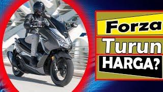 Kabar BAIK ! Honda Forza TURUN HARGA Karena Diproduksi Lokal ?