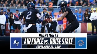 Air Force vs. No. 20 Boise State Football Highlights (2019) | Stadium