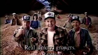 Blue Diamond Almonds 80s Commercial (1986)