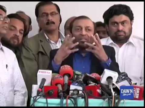 Farooq Sattar Press Conference In Islamabad