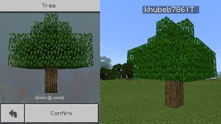 MCPE How To Get Tree Skin In Minecraft pocket edition 2.22 MB