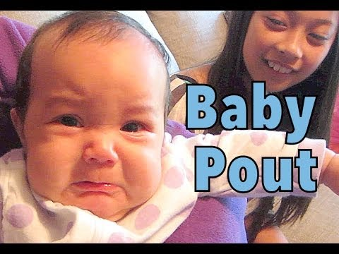 Sweet Baby Pout - June 20, 2014 - Itsjudyslife Daily Vlog video