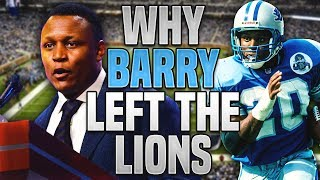 The REAL REASON Why Barry Sanders RETIRED Early