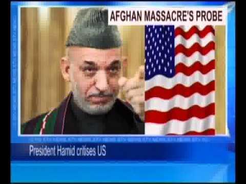 Afghan Massacres Probe-President Hamid Critises U.S.flv