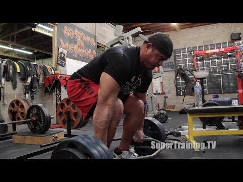 Trap Bar Deadlifts | Deadlift Assistance | SuperTraining.TV Image 1