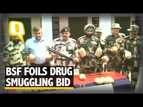 BSF Seizes 21 Kg Heroin Along Indo-Pak Punjab Border