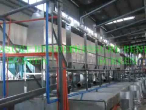 Factory Machine Used In Cassava Starch Production