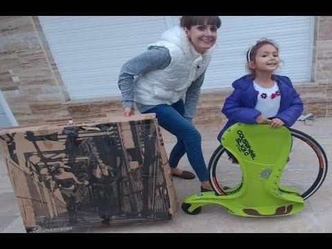 Elife Gauswheel SX  3.0  Scooter  kay kay , eğlenceli çocuk videosu