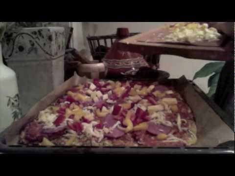 Amazing pizza! Perfect for the Specific Carbohydrate Diet (SCD)