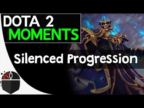 Dota 2 Moments - Silenced Progression
