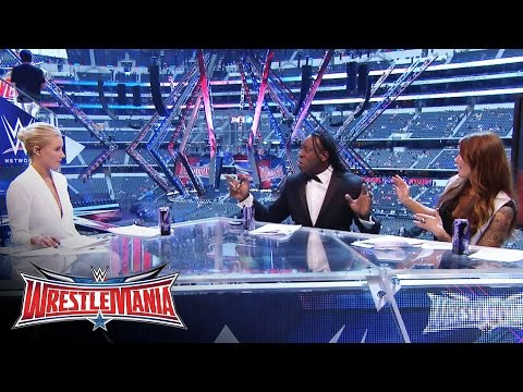 Lita, Booker T and Renee Young welcome the WWE Universe to WrestleMania: WrestleMania 32 Kickoff