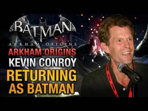 Batman: Arkham Origins - Kevin Conroy confirmed for a new Batman Arkham game?