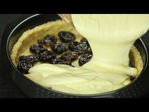 Творожный пирог с черносливом - Рецепты от Со Вкусом