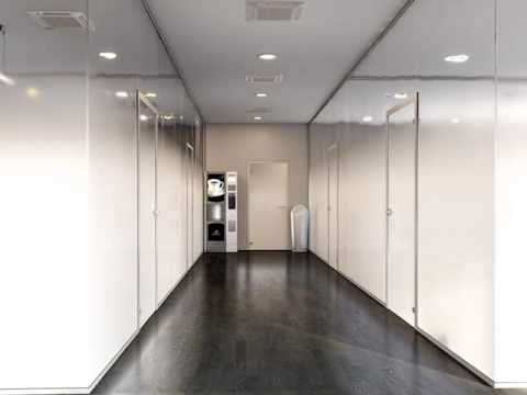 Spazio, doors and glass partitions