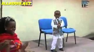 Amazing Ethiopian Kid Presenting Poetry
