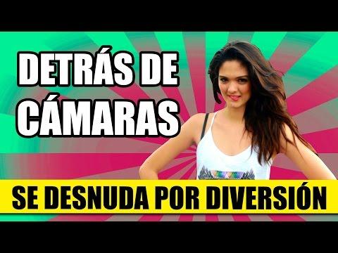 DETRÁS DE CÁMARAS: Chica Sexy Se Desnuda Sin Razón Alguna