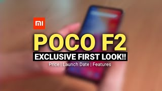 POCO F2 Hands On Video - FLAGSHIP KIILER 2.0 | Poco F2 Revealed By Mistake? | Xiaomi Poco F2