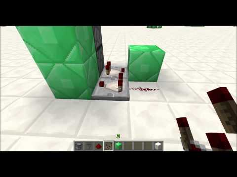 Working Item Elevator for Minecraft 1.5.x Dropper Towers