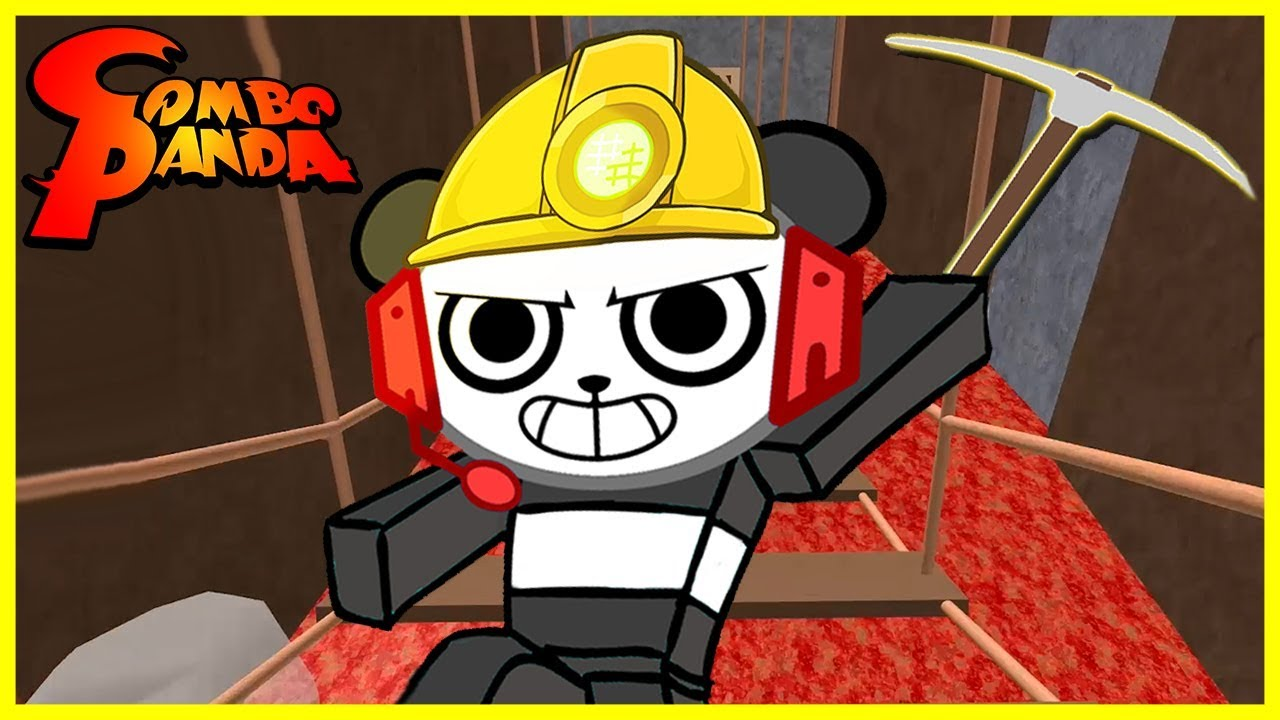 Roblox Escape the Mine Obby Let's Play with Combo Panda
