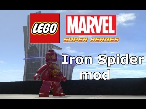 LEGO Marvel Super Heroes The Video Game Iron-Spider Mod