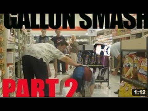 Best Prank of 2013 The Gallon Smash! Part 2