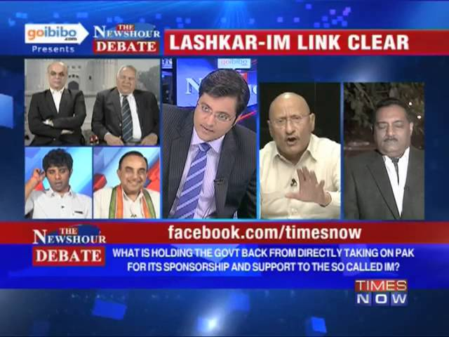 The Newshour Debate: Why dont we confront the Pakistan - IM Link? (Part 2 of 3)