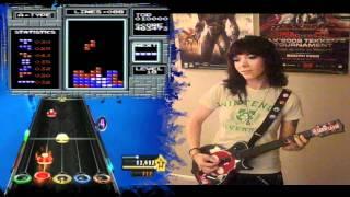 Tetris Theme Guitar Hero 100% Expert Guitar FC