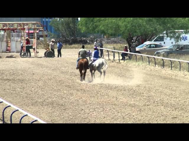CARRERAS DE CABALLOS EN SALINAS VICTORIA NUEVO LEON 2012