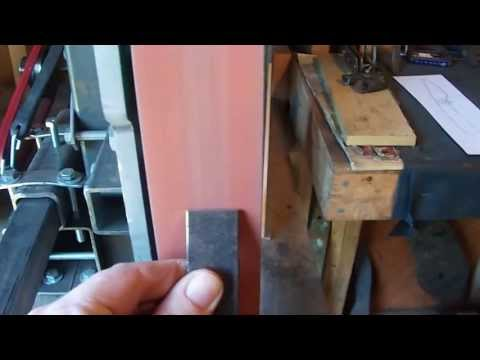 Homemade 2 X 72 Belt Grinder - NWG