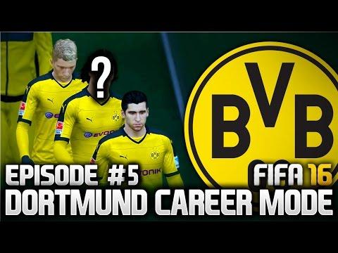 TWO HUGE SIGNINGS! DORTMUND CAREER MODE - EPISODE #5 (FIFA 16)
