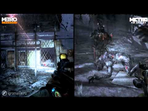 Сравнение графики — Metro Redux vs Metro 2033
