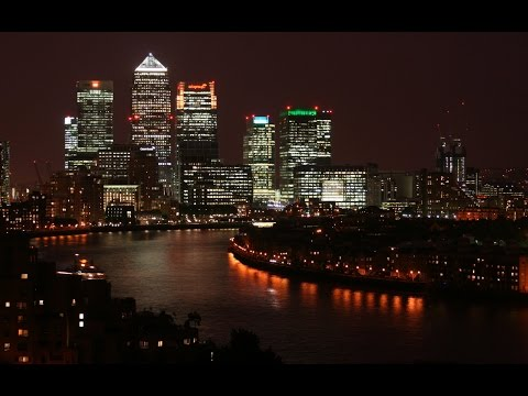 Canary Wharf Time Lapse 2014