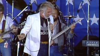 Kenny Rogers - Ruby Live at Farm Aid 1985